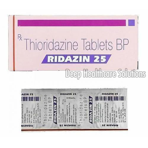25 MG Ridazin Tablets