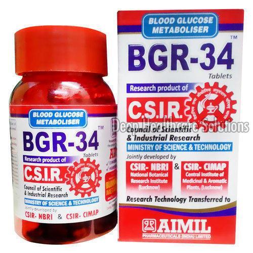 BGR-34 Diabetic Tablets