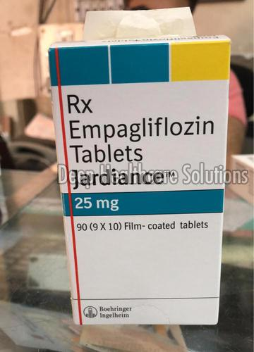 25 MG Jardiance Tablets