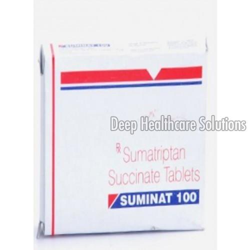100 MG Sumatriptan Succinate Tablets