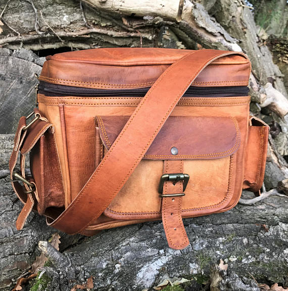 Handmade Leather Camera Bags