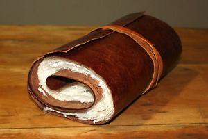 Rolled Leather Journal