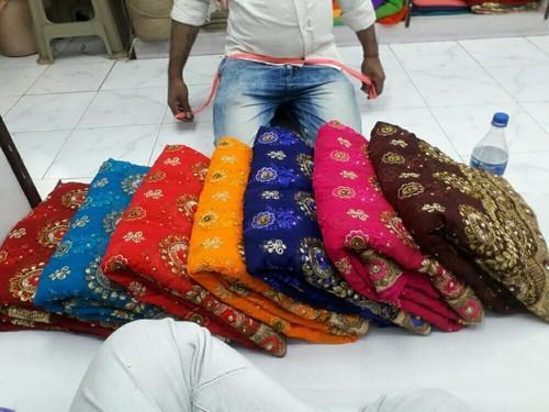 Janvi Designer Work Sarees