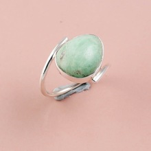 Natural Australian Turquoise Gemstone ring