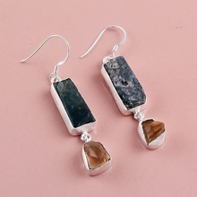 Natural Vasonite Gemstone earring