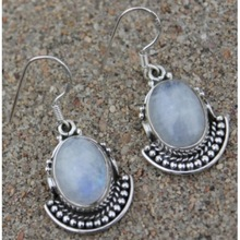 Rainbow Moonstone Earring