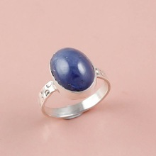 Tanzanite Gemstone silver ring