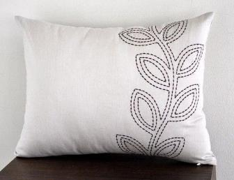 Embroidered Cushion Cover 02