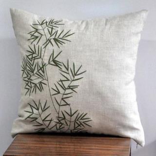 Embroidered Cushion Cover 03