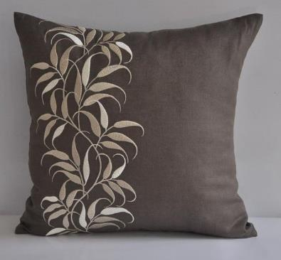 Embroidered Cushion Cover 04