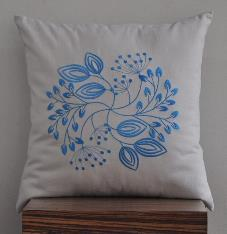 Embroidered Cushion Cover 06