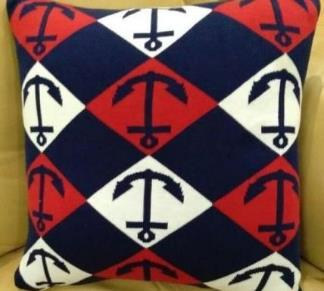 Knitted Cushion Cover 01