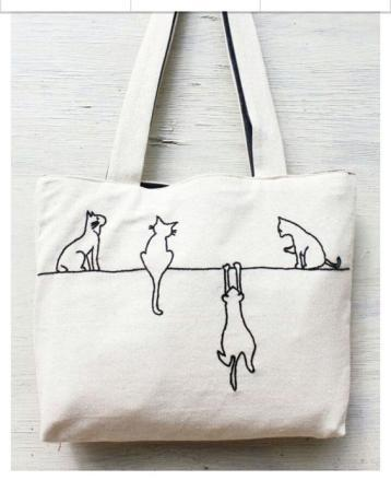 Printed Cotton Bags 01