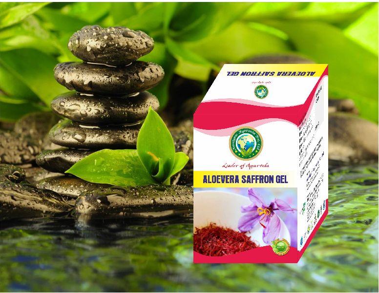 Aloevera Suffron Gel