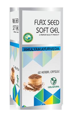 Flax-Seed Soft Gel Capsule