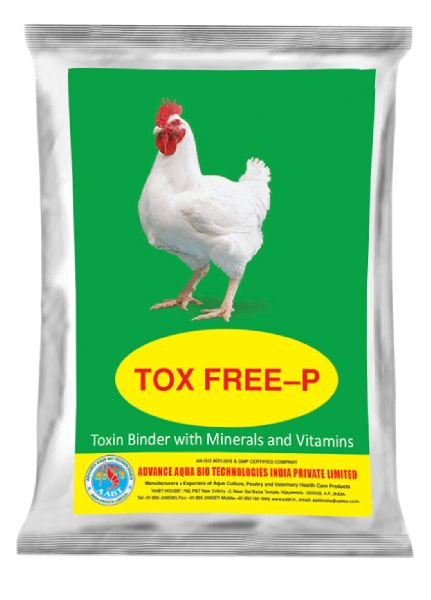 TOX FREE-P - Toxin Binder with Minerals and Vitamins.