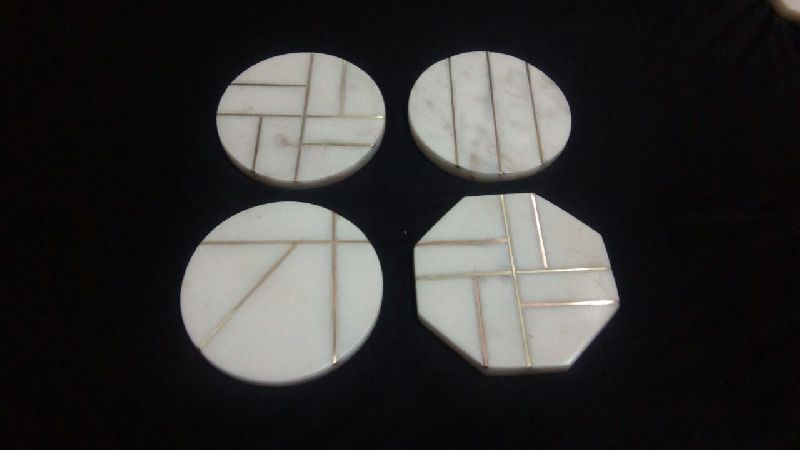 Marble Inlay Coaster