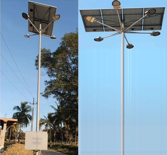 High Mast Solar Led Light