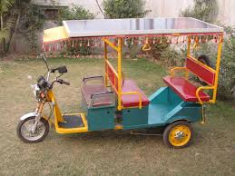 Solar E-Rickshaw