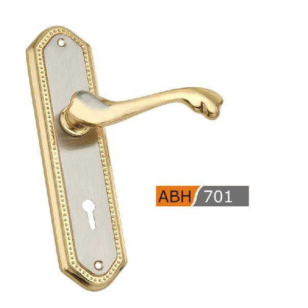 175mm Brass Mortice Door Handles
