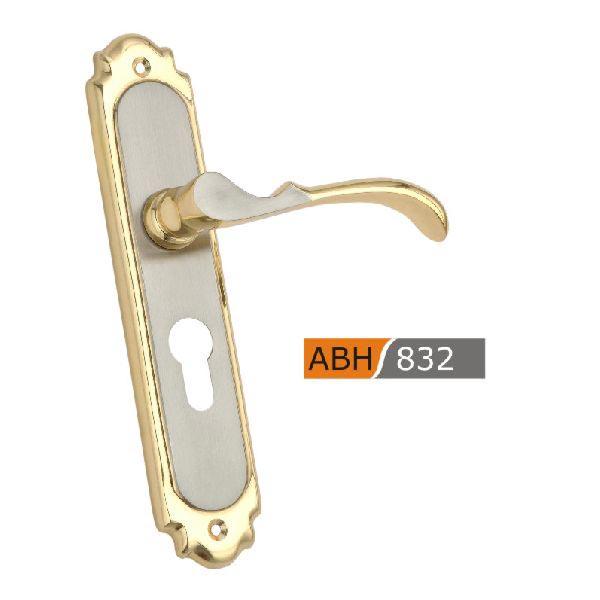 200mm Brass Mortice Door Handles