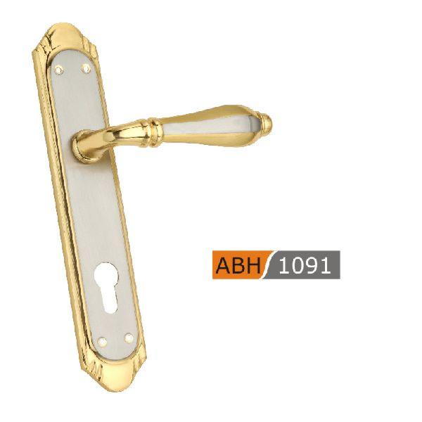 ABH 1091 - 250mm Brass Mortice Door Handle