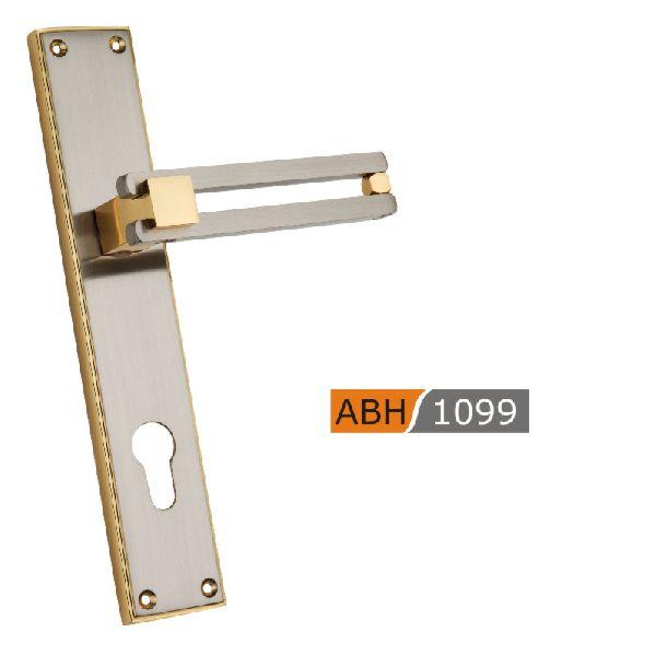 ABH 1099 - 250mm Brass Mortice Door Handle