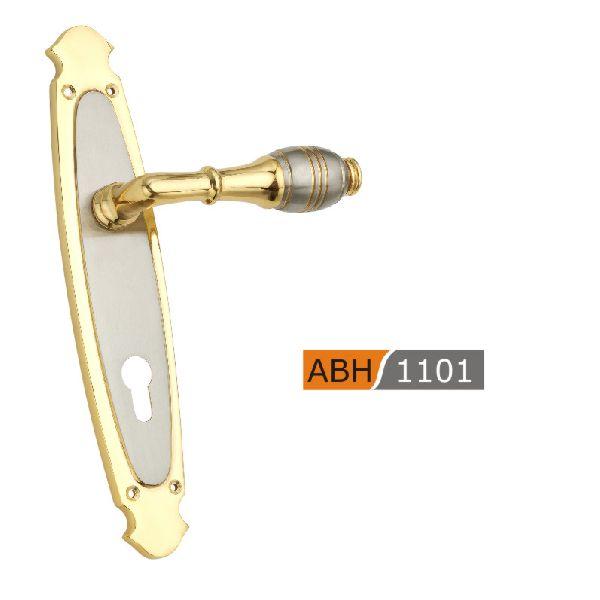 ABH 1101 - 275mm Brass Mortice Door Handle