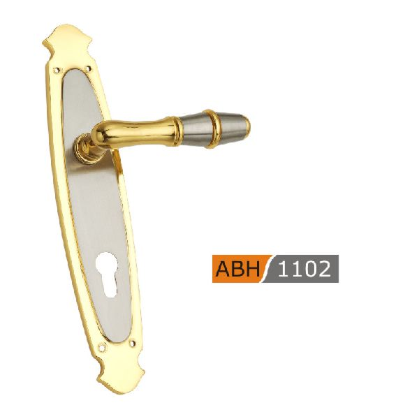 ABH 1102- 275mm Brass Mortice Door Handle