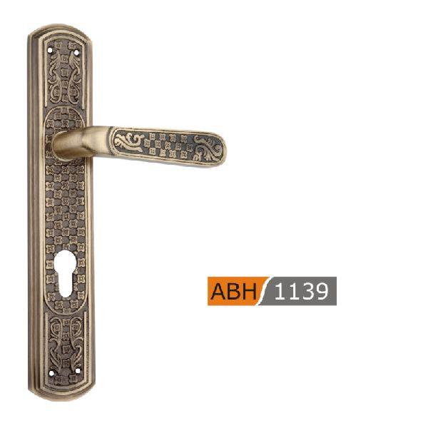 ABH 1139- 275mm Brass Mortice Door Handle