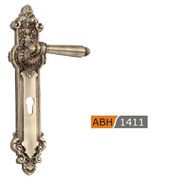 ABH 1411- 350mm Brass Mortice Door Handle