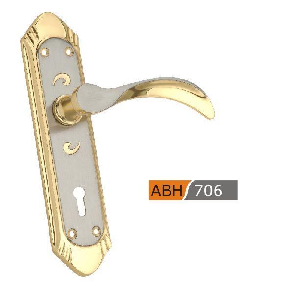 ABH 706 - 175mm Brass Mortice Door Handle