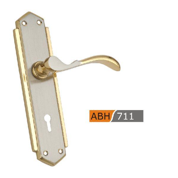 ABH 711 - 175mm Brass Mortice Door Handle