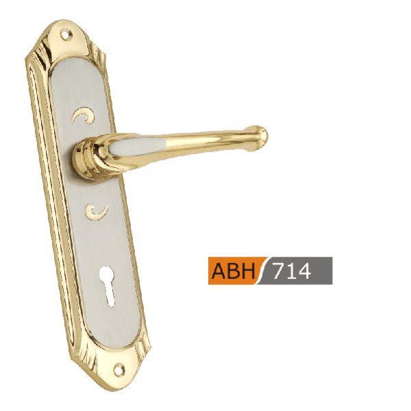 ABH 714 - 175mm Brass Mortice Door Handle