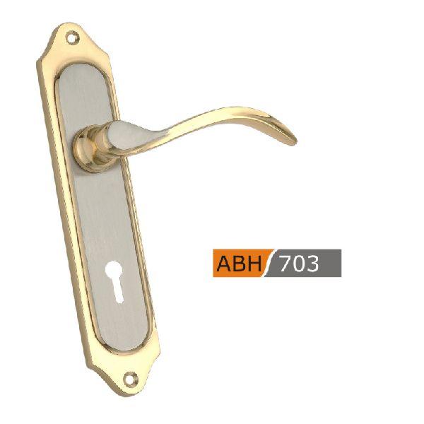 ABH703 - 175mm Brass Mortice Door Handle