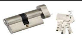OSK 70mm Cylindrical Door Lock