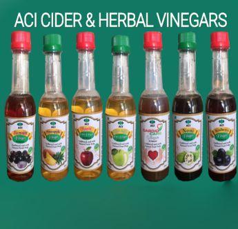 Cider and Herbal Vinegar