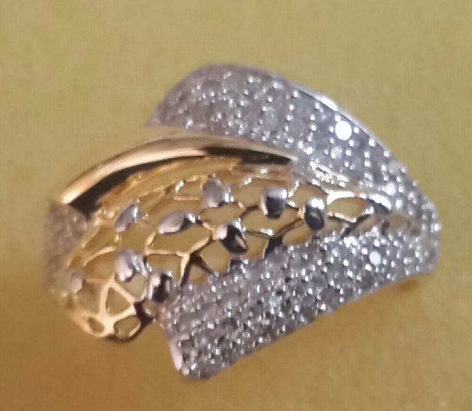 Designer Gold Ring 11