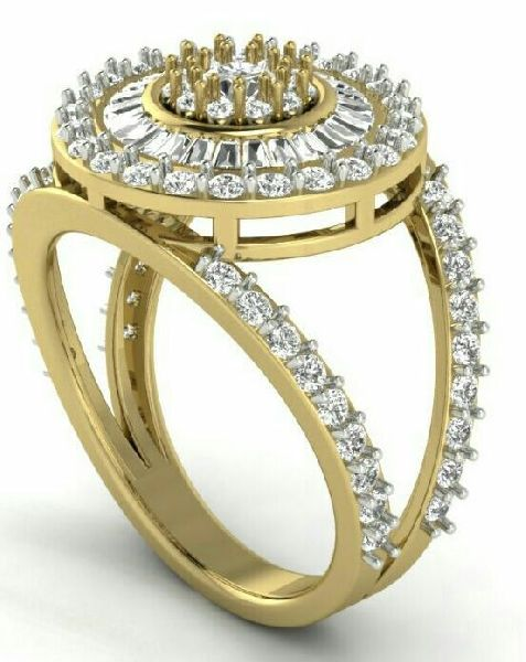 Designer Gold Ring 14