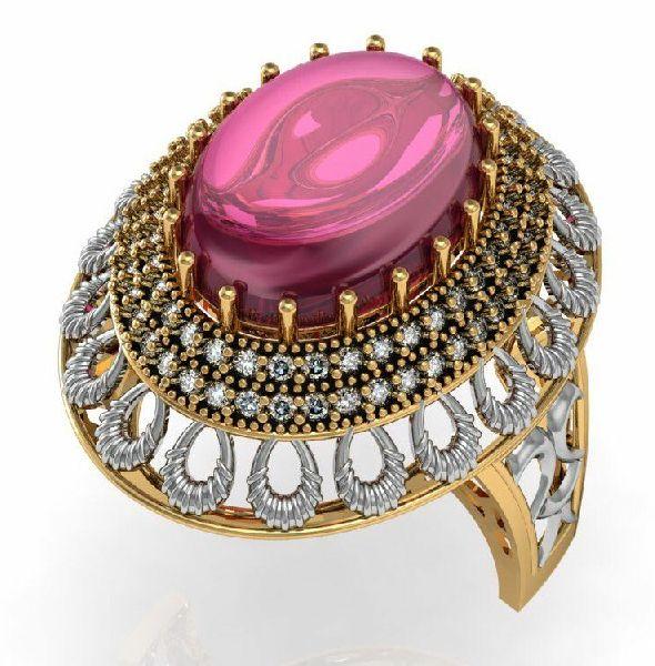 Designer Gold Ring 16