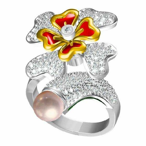 Designer Gold Ring 17