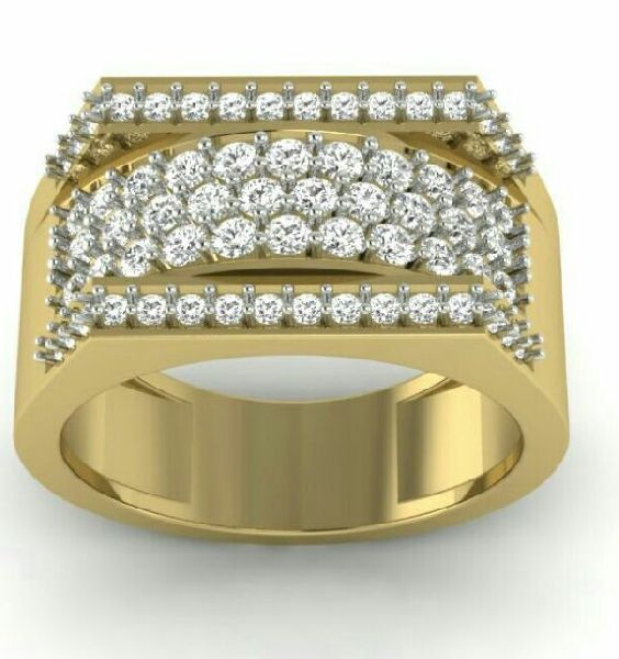 Mens Gold Ring 02