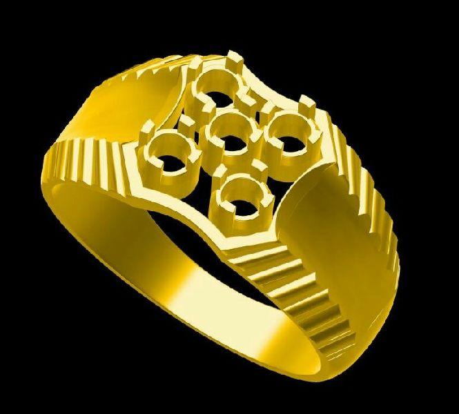 Mens Gold Ring 03