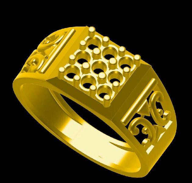 Mens Gold Ring 04