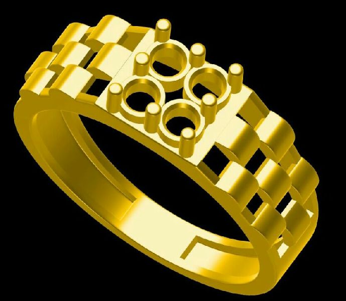 Mens Gold Ring 05