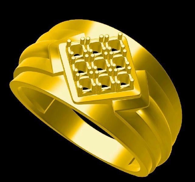 Mens Gold Ring 06