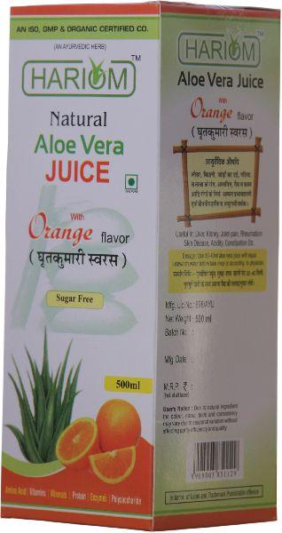 Aloe Vera Orange Juice Manufacturer Supplier in Jodhpur India