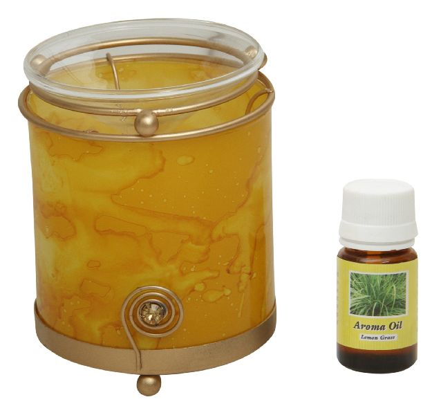 Glass Aroma Oil Burner 02