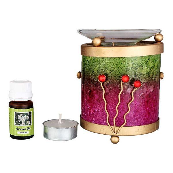 Glass Aroma Oil Burner 03