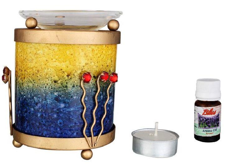 Glass Aroma Oil Burner 04